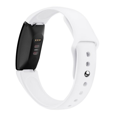 Fitbit Inspire HR siliconen bandje (small) - Wit