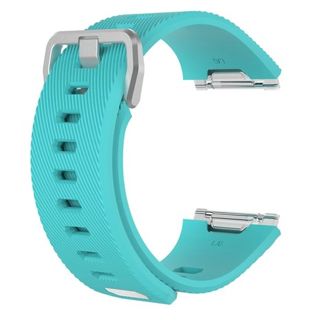 Fitbit Ionic siliconen bandje met gesp (large) - turquoise