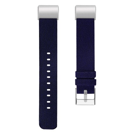 Fitbit Charge 2 Canvas Bandje (Large) - Blauw