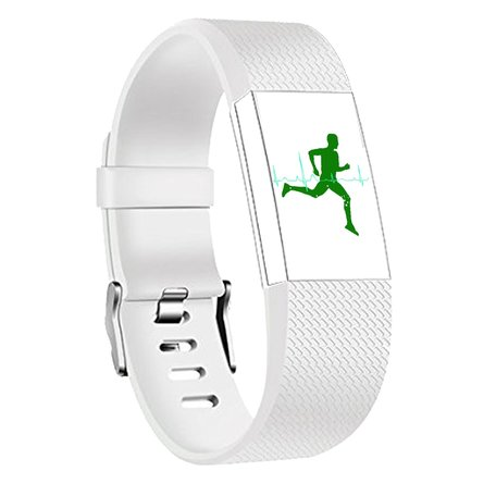 Fitbit Charge 2 sportbandje (Small) - Wit
