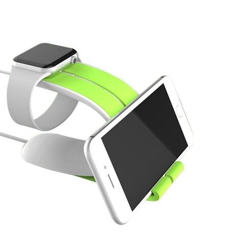 LOCA MOBIUS Apple watch stand - groen