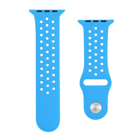 Apple watch holow edition sport band 42mm / 44mm - Blauw