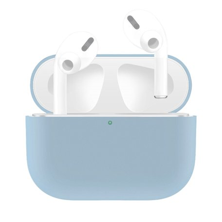 AirPods Pro Solid series - Siliconen hoesje - Lichtblauw