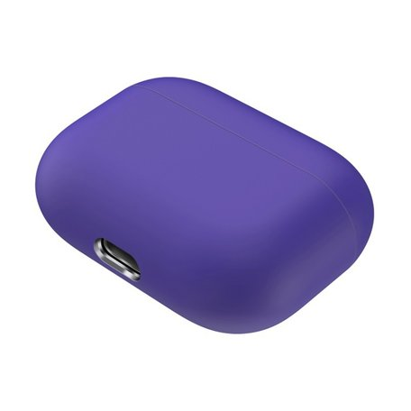 AirPods Pro Solid series - Siliconen hoesje - Paars