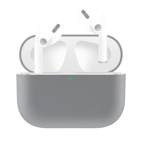 AirPods Pro Solid series - Siliconen hoesje - Grijs