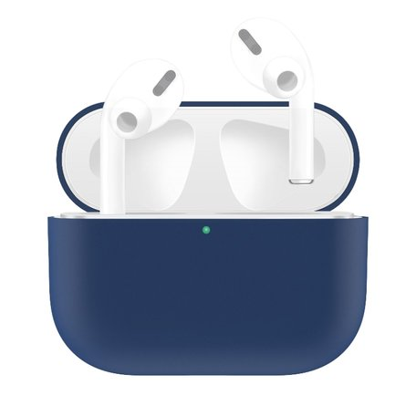 AirPods Pro Solid series - Siliconen hoesje - Blauw