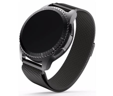 Samsung Gear S3 Milanese bandje - zwart