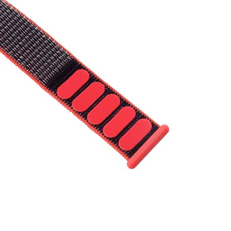 Apple Watch bandje 38mm / 40mm - Sport Loop bandje - Magenta