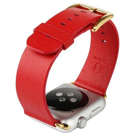 Baseus Apple watch 42mm / 44mm modern - Rood