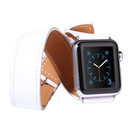 Apple watch 38mm / 40mm double strap - Wit