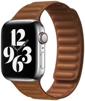 Apple Watch 42/44mm - Leather link series - bruin