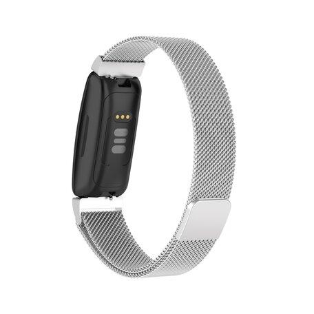 Fitbit Inspire 2 Milanese bandje (small)  - Zilver