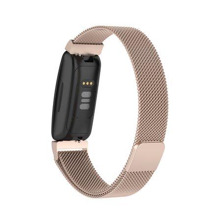 Fitbit Inspire 2 Milanese bandje (small)  - Vintage Goud