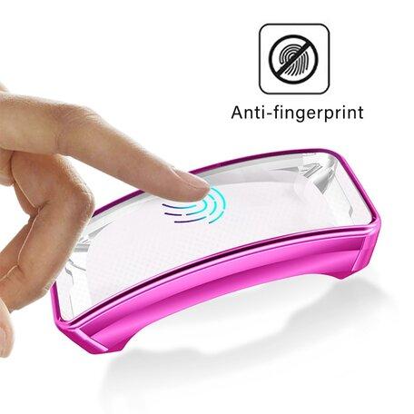 Fitbit Inspire / Inspire HR TPU case (volledig beschermd) - Roze