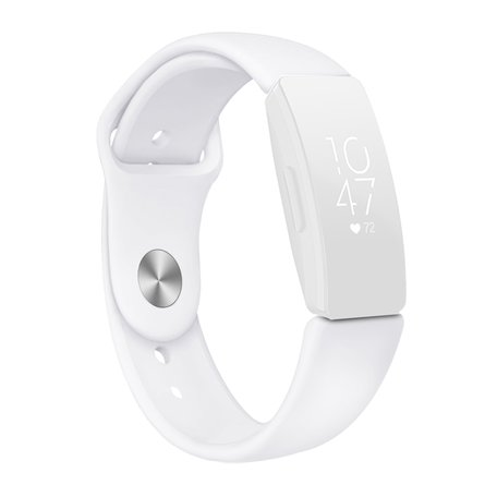 Fitbit Inspire HR siliconen bandje (large) - Wit