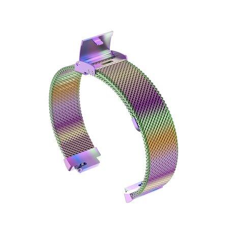 Fitbit Inspire Milanese bandje met gesp (small)  - Multi