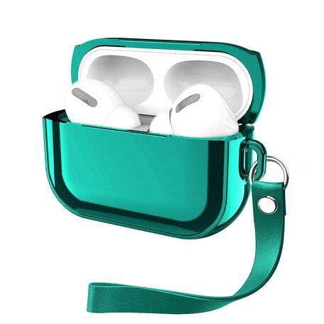AirPods Pro Glans - hard case - Groen