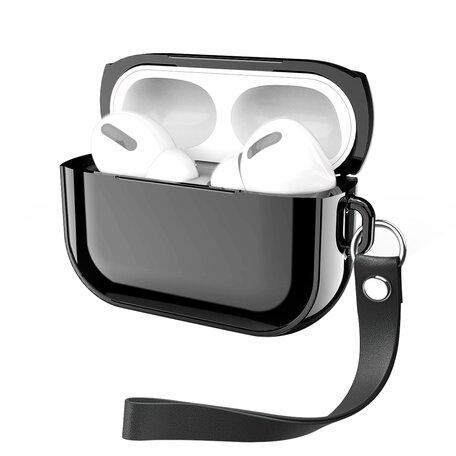 AirPods Pro Glans - hard case - Zwart