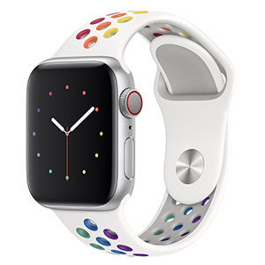 Apple Watch 38mm / 40mm - Sportbandje - Multicolor