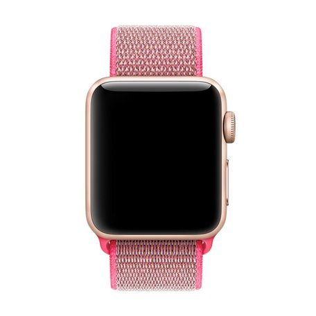 Apple Watch 38mm / 40mm - Sport Loop bandje - Roze