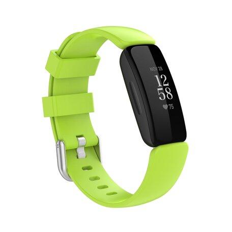Fitbit Inspire 2 & Ace 3 - Sportbandje met gesp - Maat: Large - Groen