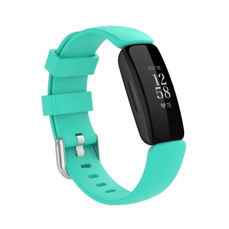 Fitbit Inspire 2 & Ace 3 - Sportbandje met gesp - Maat: Small - Mint groen
