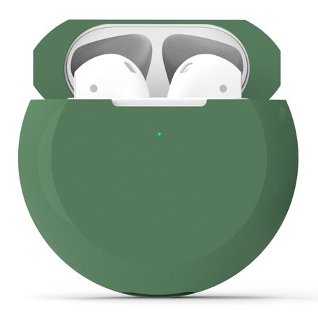 AirPods 1/2 hoesje siliconen shockprotect series - groen