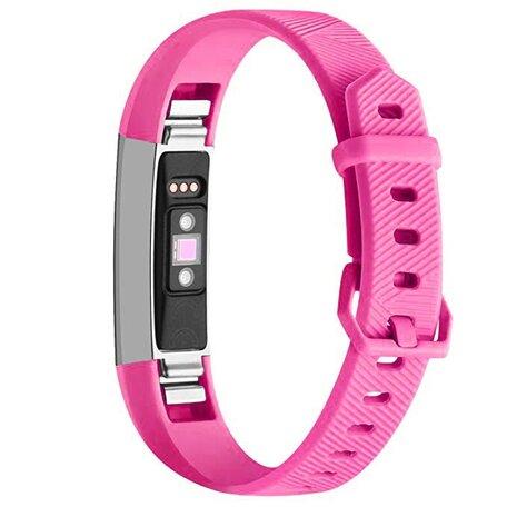FitBit Alta HR siliconen bandje met gesp (Large) - Roze