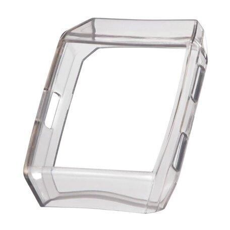 Fitbit Ionic Soft TPU case (volledig beschermd) - Grijs
