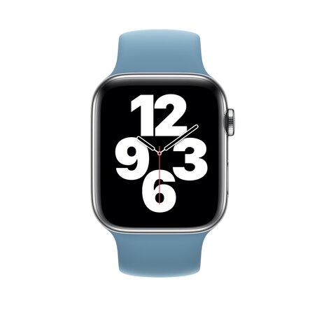 Solo Loop Link serie bandje - Maat: S - Blauw - Geschikt voor Apple Watch 38mm / 40mm / 41mm