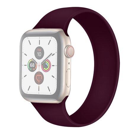 Solo Loop Link serie bandje - Maat: S - Paars - Geschikt voor Apple Watch 42mm / 44mm / 45mm