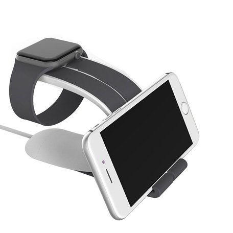 LOCA MOBIUS Apple watch stand - grijs