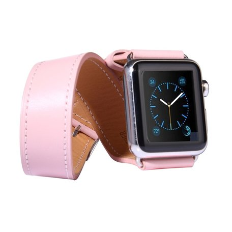 Apple watch 38mm double strap - roze