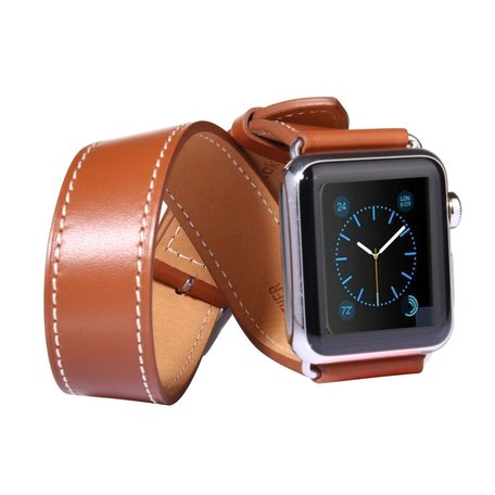 Apple watch 42mm double strap - bruin