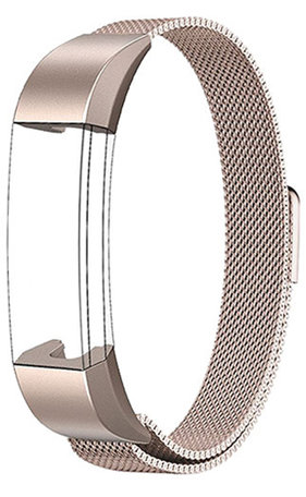 FitBit Alta HR Milanese bandje (Small) - Champagne goud