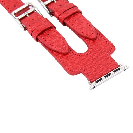 Kakapi Apple watch 38mm / 40mm Double-buckle - Rood