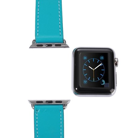Apple watch 42mm / 44mm double strap - Turquoise