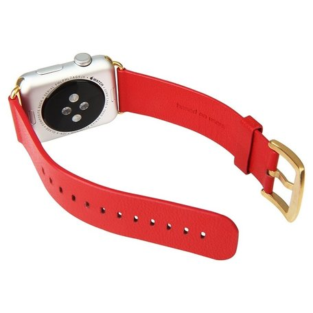 Baseus Apple watch 42mm / 44mm modern - Rood
