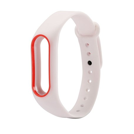 Xiaomi Mi band 2 DUO COLOR bandje voor CA0600B - Wit