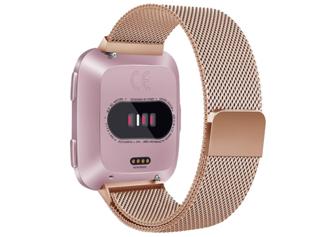 Fitbit Versa milanese bandje (Small) - Champagne Goud