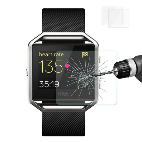 Fitbit Blaze Tempered Glass (Per 2 stuks)