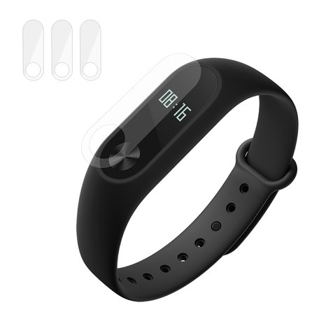 Xiaomi Mi Band 2 screen protector (Per 3 stuks)