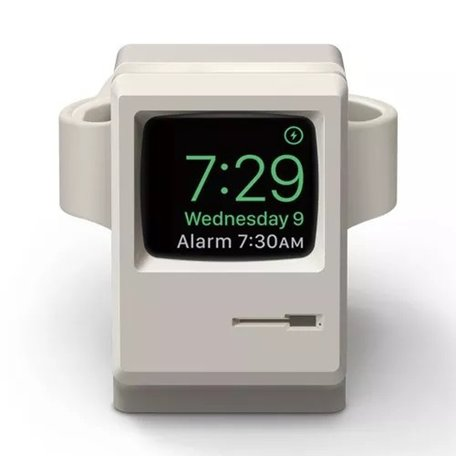Apple Watch Retro houder - Lichtgrijs