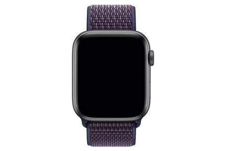 Sport loop Apple watch bandje 42mm / 44mm - Donker paars