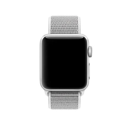 Sport loop Apple watch bandje 42mm / 44mm - Wit