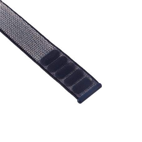 Sport loop Apple watch bandje 38mm / 40mm - Navy blauw