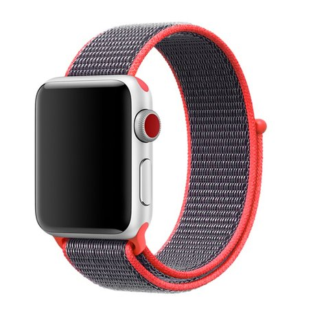 Sport loop Apple watch bandje 38mm / 40mm - Magenta