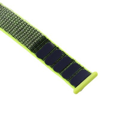 Sport loop Apple watch bandje 38mm / 40mm - Groen
