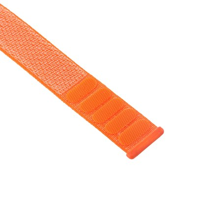 Sport loop Apple watch bandje 38mm / 40mm - Oranje