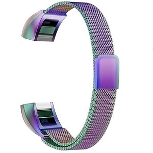 FitBit Alta HR Milanese (Large) - Multicolor